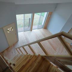 いのりの家: 一級建築士事務所あとりえが手掛けた階段です。