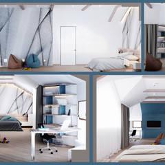 Teen bedroom by Reminterior,
