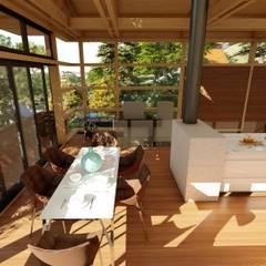 Albert Road, Tamboerskloof:  Dining room by Inline Spaces Pty Ltd, Modern