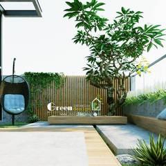 NHÀ PHỐ CAO BẰNG TRÀN NGẬP ÁNH SÁNG :  Nhà by Green Interior, Hiện đại