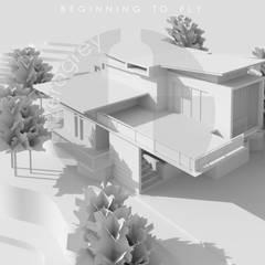 Bungalows by Zerogrey Design Studio