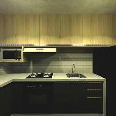 Apartamento do Victor: Cozinhas  por OBARQ