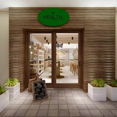 Offices & stores by Studio Barreto Fernandes, Rustic