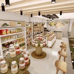Offices & stores توسطStudio Barreto Fernandes, راستیک (روستایی)