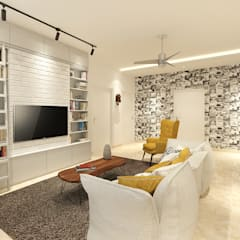 Media room by The Workroom, Modern