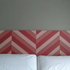 Bedroom by CARMITA DESIGN diseño de interiores en Madrid, Mediterranean MDF