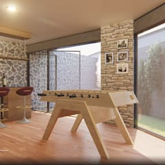 Wine cellar by EzCam Arquitectura,