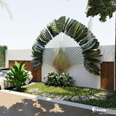 Garden by Green Interior, Modern