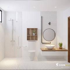THIẾT KẾ BIỆT THỰ SÂN VƯỜN ECOPARK – THÁCH THỨC MỌI GIỚI HẠN:  Phòng tắm by Green Interior