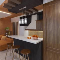 Small kitchens by Lidiya Goncharuk