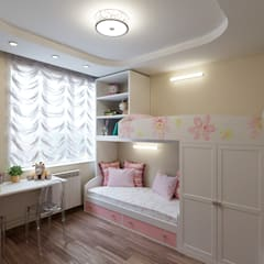 Girls Bedroom by Lidiya Goncharuk, Classic