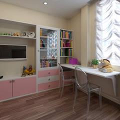 Kamar tidur anak perempuan oleh Lidiya Goncharuk, Klasik