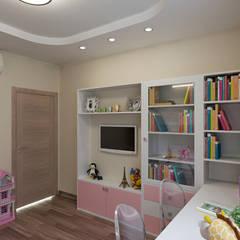 غرفة نوم بنات تنفيذ Lidiya Goncharuk, كلاسيكي