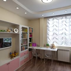 Girls Bedroom by Lidiya Goncharuk