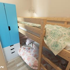 Teen bedroom by Lidiya Goncharuk, Mediterranean
