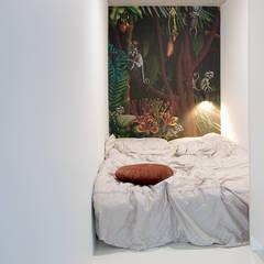 Monkey Apartament: styl , w kategorii Sypialnia zaprojektowany przez TIKA DESIGN