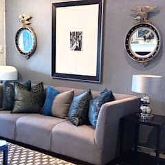 Effortless Suburban Elegance:  Living room by CKW Lifestyle Associates PTY Ltd, Eclectic