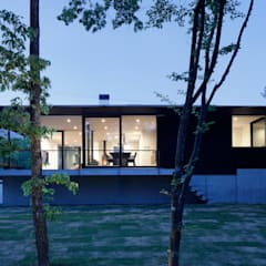 Country house by atelier137 ARCHITECTURAL DESIGN OFFICE, Modern Wood Wood effect