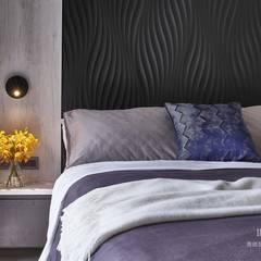 Kleine slaapkamer door 雅適登設計工程有限公司, Industrieel