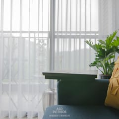 雅適登設計工程有限公司의  발코니, 인더스트리얼