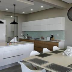 Project JB:  Built-in kitchens by Barnard & Associates - Architects, Minimalist