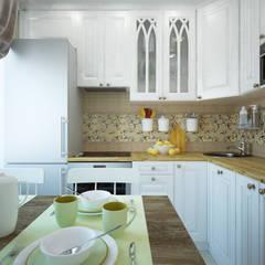 Petites cuisines de style  par lesadesign,