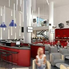 : Hoteles de estilo  por Sakina Interiorismo