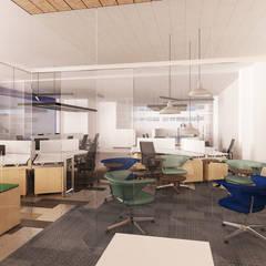 Study/office by Estudio Dual