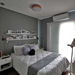 Dormitorios pequeños de estilo  por Estúdio Ventana