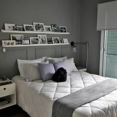 Small bedroom by Estúdio Ventana