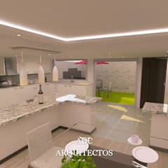 Small kitchens by adc arquitectos