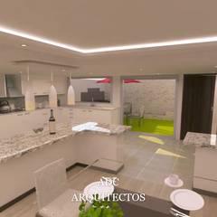 : Cocinas pequeñas de estilo  por adc arquitectos