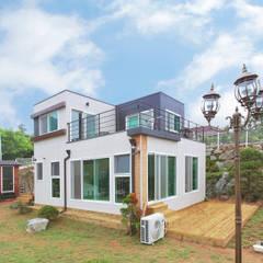 공간제작소 세번째 설계사례: 공간제작소(주)의  전원 주택