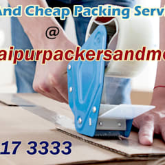 Oficinas y Tiendas de estilo  por Packers And Movers Jaipur | Get Free Quotes | Compare and Save , Asiático Ladrillos