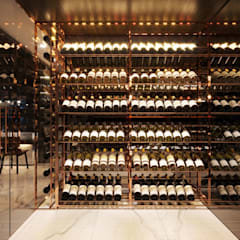 Wine cellar by ICON INTERIOR,