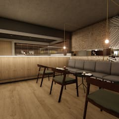 Pretoria Hotel & Conference Centre:  Bars & clubs by Mist Interior Studio, Modern