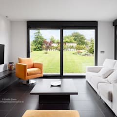 Salas / recibidores de estilo  por arQmonia estudio, Arquitectos de interior, Asturias