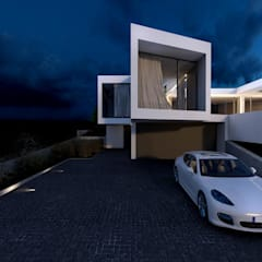 Star House by Seweryn Nogalski Beton House: styl , w kategorii Domy zaprojektowany przez Beton House