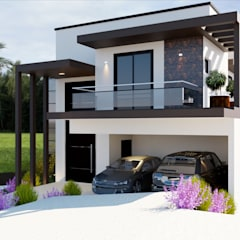 CASA R.D por Isa De La Volpe • Arquitetura • Interiores • Construção Moderno