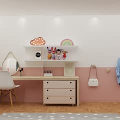 Girls Bedroom by Ma.Ca Arquitetura,