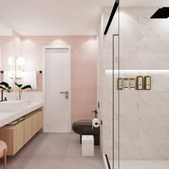 حمام تنفيذ Ma.Ca Arquitetura , إسكندينافي