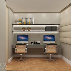 Ruang Kerja oleh Ma.Ca Arquitetura, Modern