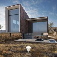 Rumah pasif oleh Diamante Arquitectura