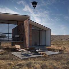 منزل سلبي تنفيذ Diamante Arquitectura, بحر أبيض متوسط خشب نقي  Multicolored