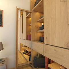 Dressing room by Diamante Arquitectura,