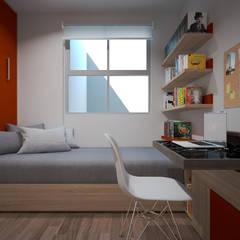Portales: Estudios y oficinas de estilo  por Sistema Arquitectura
