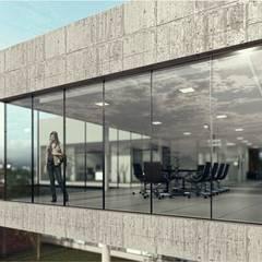 Mutual : Estudios y oficinas de estilo  por Estudio NP+a