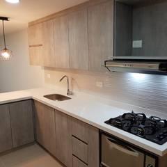 Built-in kitchens by Remodelaciones Luján,