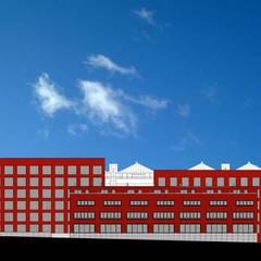 Woon / Werkwoningen Ceramique Maastricht:  Eengezinswoning door Verheij Architecten BNA,