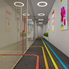 Hospitales de estilo  por Space Interface